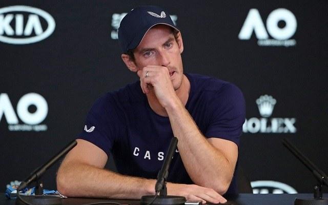 Murray könnyek közt jelentette be, hogy befejezi profi karrierjét. - Fotó: Twitter