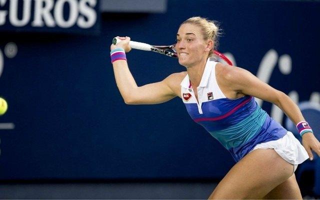 Babosnak nem sikerült jól a hangolódás. - Fotó: WTA
