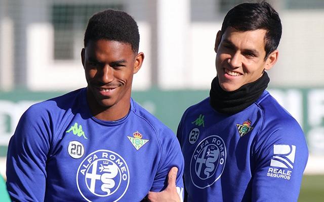 Decemberben Junior Firpo gólja elégnek bizonyult a győzelemhez. fotó: Betis Twitter