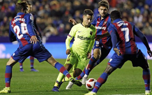 Az első meccsen 2-1-re kikapott a katalán gigász. fotó Twitter