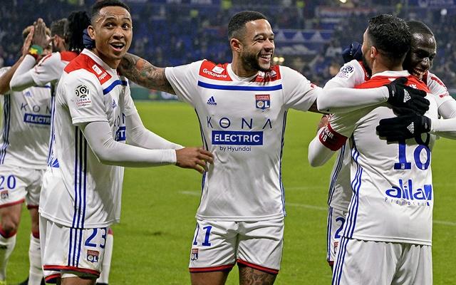 Nincs idő a kesergésre Depay-éknak. fotó: Lyon Official