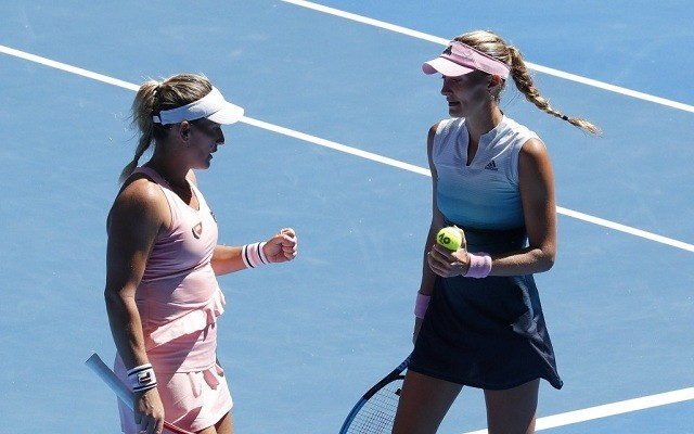 Babos és Mladenovic ötödik közös GS-döntőjükre készülnek. - Fotó: WTA