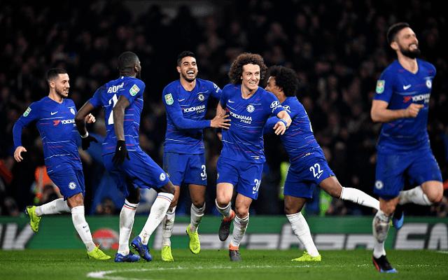 A Chelsea-nek nem jelenthet gondot a vasárnapi meccs. - Fotó: Twitter