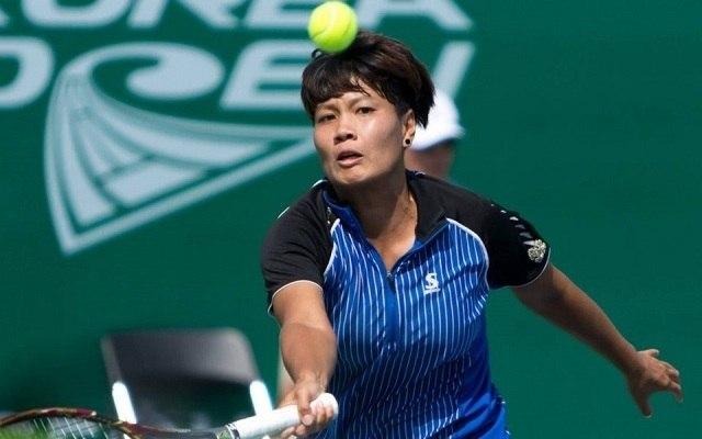 Boríthatja a papírformát a thaiföldi lány. - Fotó: WTA