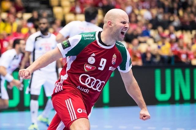 Balohg Zsolt ott folytatta, ahol sérülése előtt abbahagyta / Fotó: EHF facebook