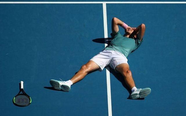 12 éve nem volt ennyire fiatal Grand Slam-elődöntős, mint Stefanos Tsitsipas. - Fotó: ATP