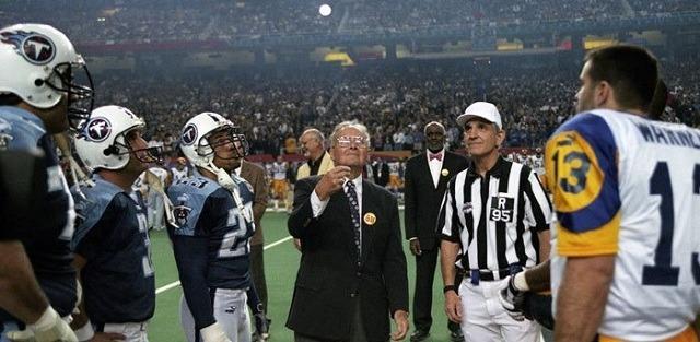 Nincs olyan Super Bowl, ami ne pénzfeldobással kezdődne el. - Fotó: NFL