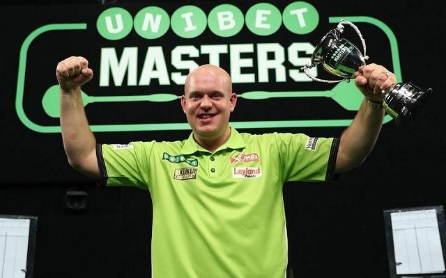 Ismét Van Gerwen emelheti magasba a The Masters-trófeát? - Fotó: PDC