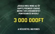 Jósold meg az öt PL-meccs eredményét és vágd zsebre a 3 milliót!