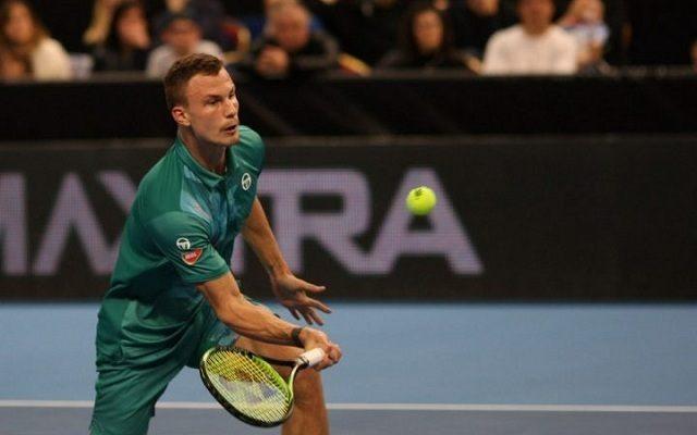 Fucsovics nagy önbizalommal várhatja a rotterdami versenyt. - Fotó: ATP
