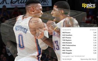Olvasónk NBA-vel szakított 333 ezret, de a bet365 bónuszának hála 457 ezret vághatott zsebre