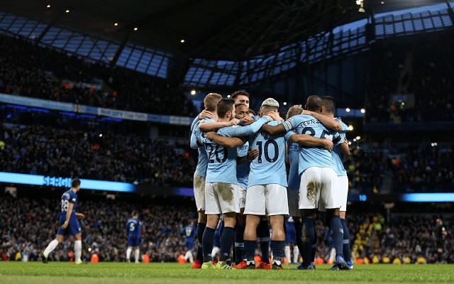 Két hete a City 6-0-ra verte a Chelsea-t a Premier League-ben. - Fotó: Twitter