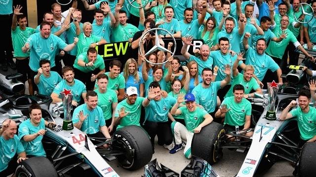 A Mercedes 5 éve nem talált legyőzőre. - Fotó: F1