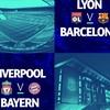 Egyértelmű a képlet? Így fogadjátok a Pool-Bayern és Lyon-Barca összecsapásokat