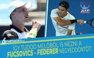 Így tudod melóból is nézni a Fucsovics-Federer negyeddöntőt + tippötletek