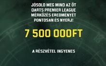 Ismét 7.5 millió forintot ér az 5 meccs telitalálata