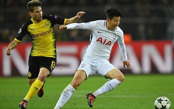 Az első meccs hőse a Bundesligában nevelkedett Son volt. fotó: Twitter