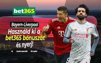 Így lehet 15 ezerből 45 ezres fogadótőkéd a Bayern-Liverpool meccs segítségével! !