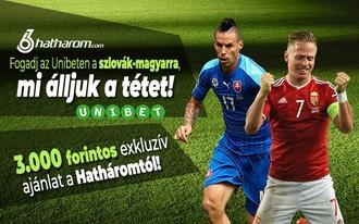 Fogadj a szlovák-magyarra, mi álljuk a tétet!