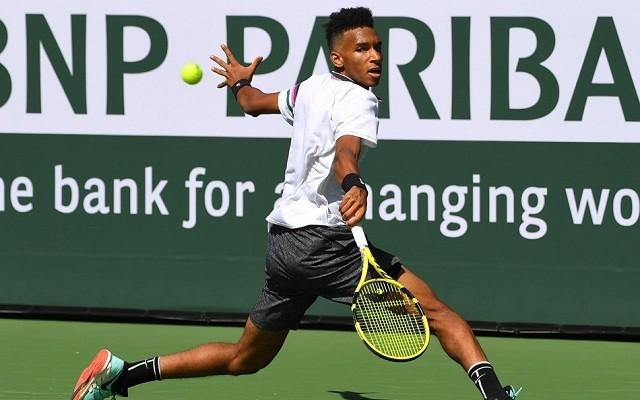 Felix Auger Aliassime első top 10-es győzelmét jegyezte Stefanos Tsitsipas ellen. - Fotó: ATP
