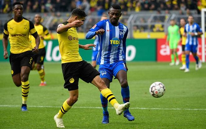 Kalou szeret a Dortmund ellen játszani és jól is megy neki. fotó: Dortmund Official