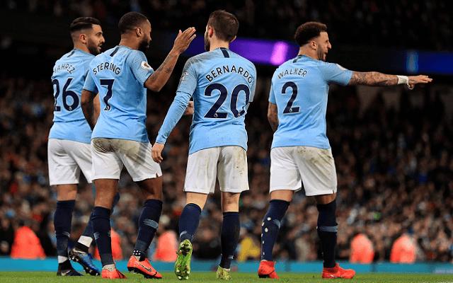 Gálaelőadással juthat a legjobb nyolc közé a Manchester City. - Fotó: Twitter