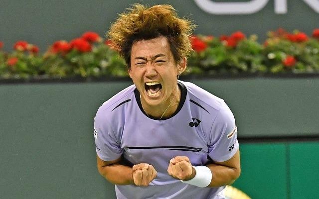 Nishioka élete teniszét játssza Indian Wellsben. - Fotó: ATP