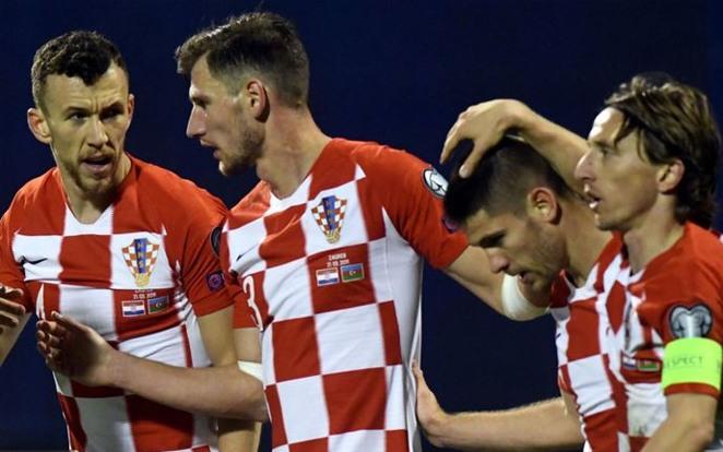 Modricék hátrányból verték Azerbajdzsánt, jó lenne nekünk is előnybe kerülni ellenük. fotó: Sky Sports