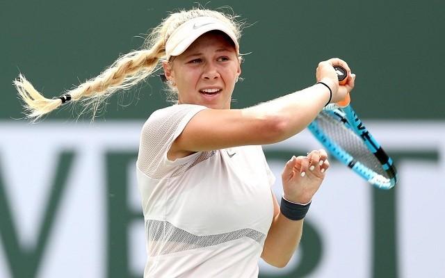 Anisimovának nem lesz ismeretlen a charlestoni zöld salak. - Fotó: WTA