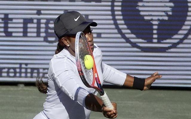 Stephens nem örvend túl jó formának. - Fotó: WTA