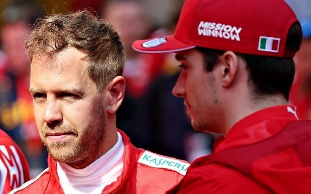Leclerc elhappolhatja a győzelmet Vettel elől. - Fotó: F1