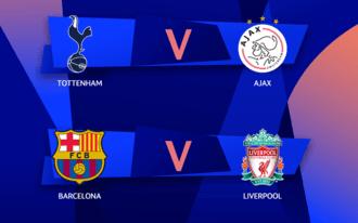Kaszálhatunk egy Liverpool-Ajax fináléval - oddsok az elődöntőkre