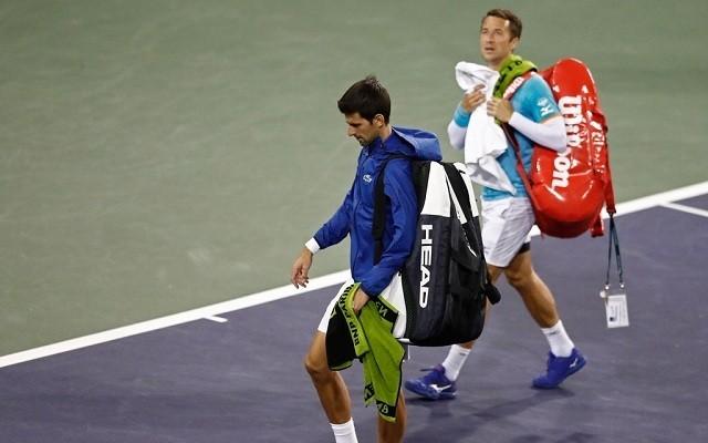 Djokovics Indian Wellsben először kapott ki kemény pályán Kohlschreibertől. - Fotó: ATP