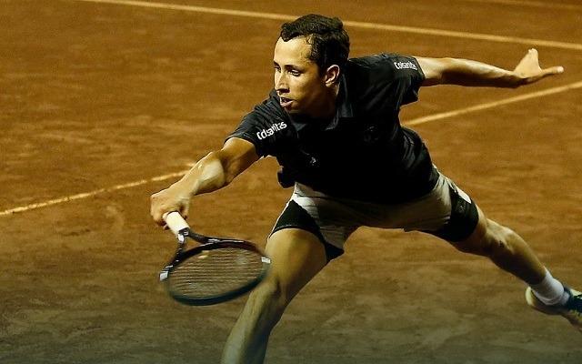 Első ATP-negyeddöntőjére készül a selejtezős kolumbiai. - Fotó: ATP