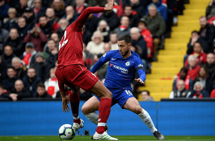 Hazard könnyen lehet, hogy szóhoz sem jut a visszavágón. - Fotó: Twitter