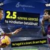 Így vágj zsebre 40 rongyot Messivel és Ronaldóval