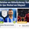 Ezért került Szalai a Transfermarkt címlapjára