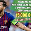 Nyerj 15 milliót egy Messi-, Suárez- vagy éppen Salah-góllal!