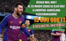 Szállj harcba a 15 millió forintért egyetlen jó tippel!