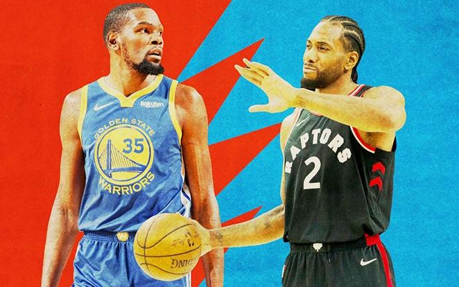 Durant és Leonard egyaránt csapatuk vezéregyéniségei. fotó: Ringer