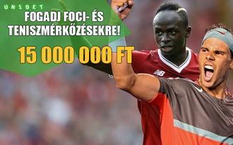 15 millió forintos fogadási bajnokság - tenisszel és focival!