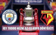 Nincs Spílered, mégis néznéd az FA Kupa döntőjét? Mutatjuk a megoldást!