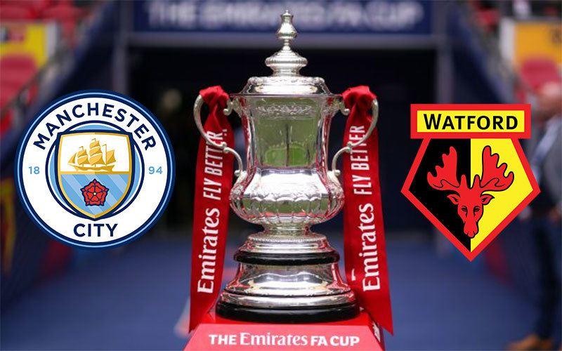 Manchester City - Watford döntőt rendeznek az FA Kupában.