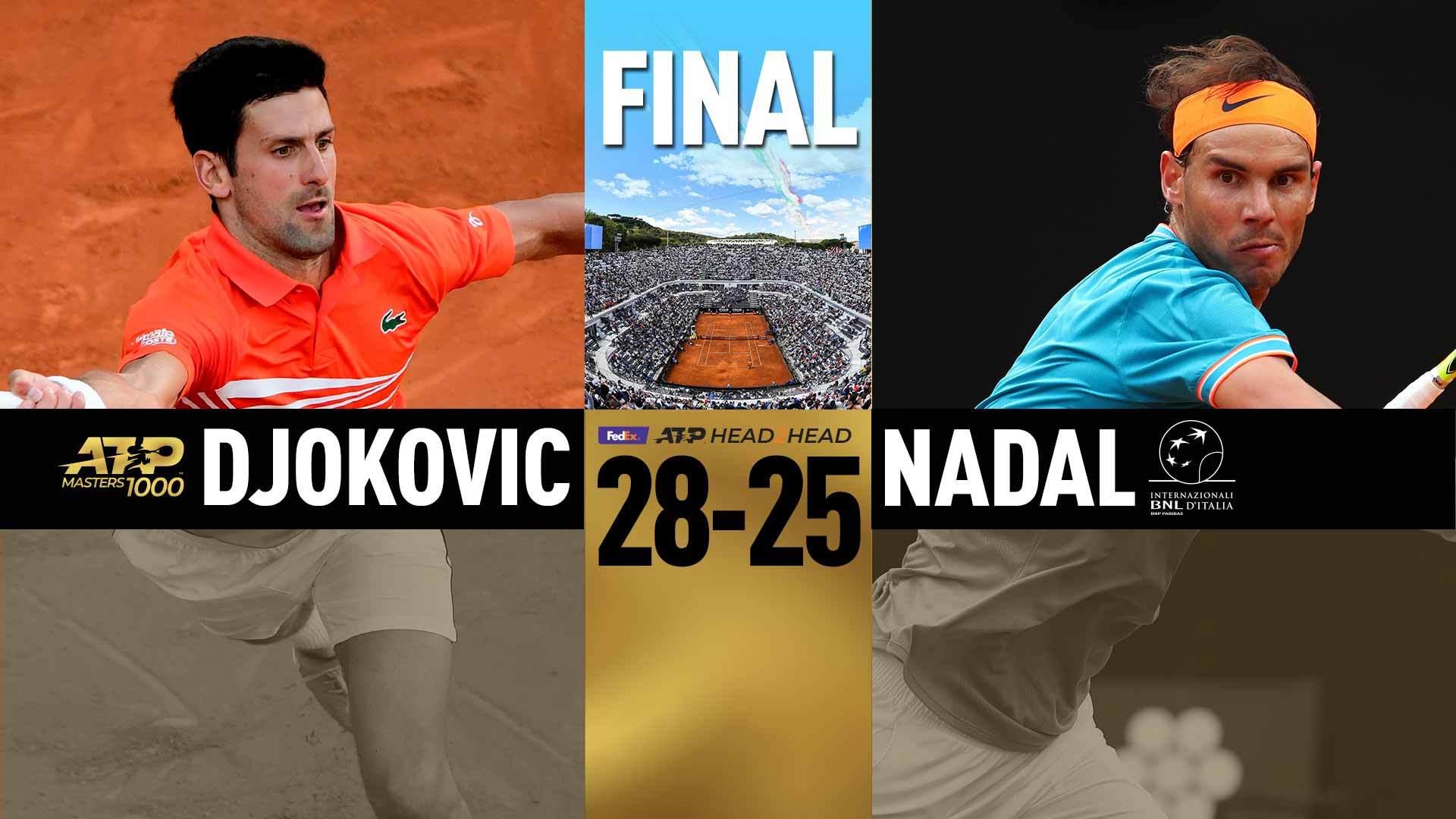 Jön az 54. Djokovics-Nadal rangadó. - Fotó: ATP