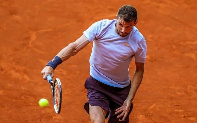 Az idei salakszezonban 4 tornán csak 3 győzelmet jegyez Dimitrov. - Fotó: ATP