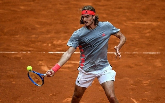 Tsitsipas Madridban Nadalt is le tudta győzni. - Fotó: ATP