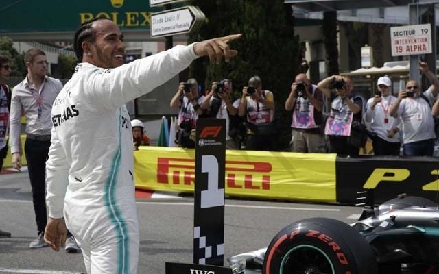 Hamilton a vasárnapi Monacói Nagydí favoritja. - Fotó: F1
