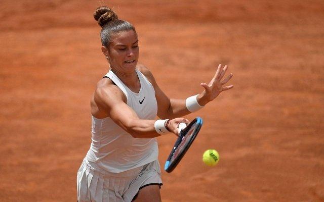 A görög lány a torna meglepetésembere is lehet. - Fotó: WTA