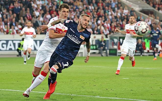 Pavard a Bayernben folytatja ősztől, tehát ő mindenképp az élvonalban marad. fotó Union Twitter