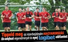 Tippeld meg az azeri-magyar meccs eredményét és nyerj!